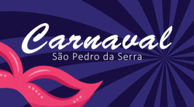 Programação do Carnaval de São Pedro da Serra