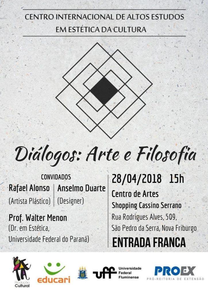 Diálogos Artes e Filosofia - Evento em São Pedro da Serra