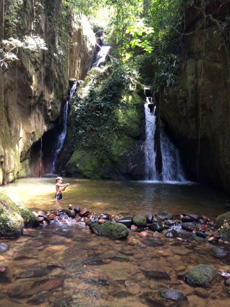 Cachoeira Indiana Jones - Boa esperança