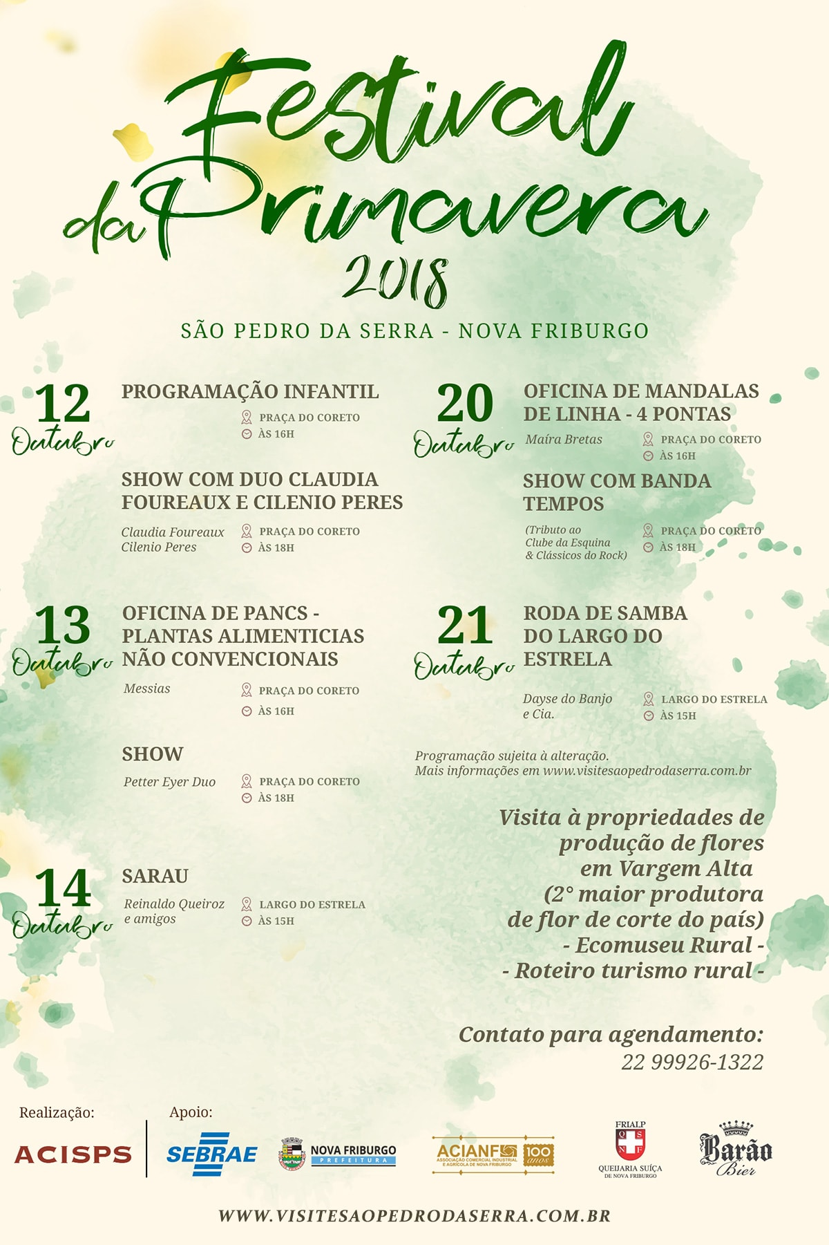 Festival da Primavera 2018 São Pedro da Serra, Nova Friburgo